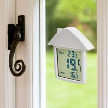 WINDOW DIGITAL THERMOMETER